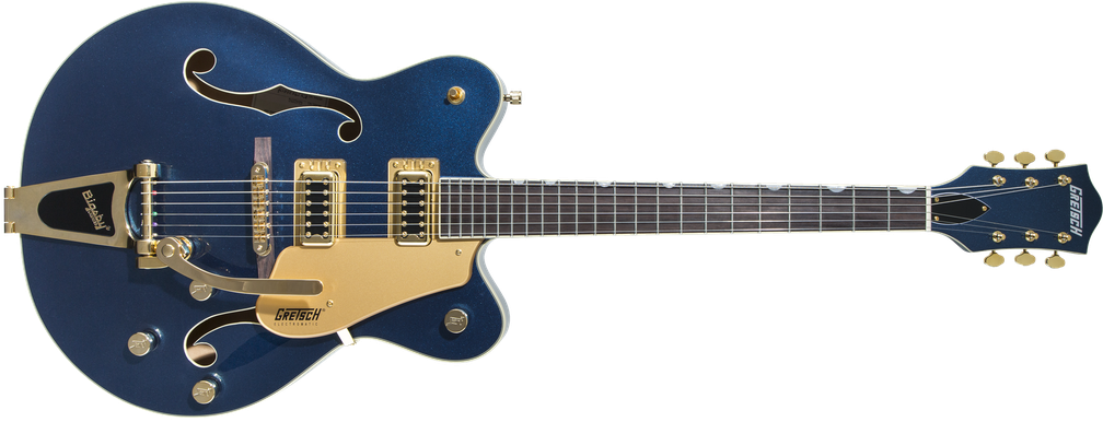 Limited Edition - G5422TG Limited Edition Electromatic® Hollow Body Double-Cut with Bigsby® and Gold Hardware, Rosewood Fingerboard, Midnight Sapphire