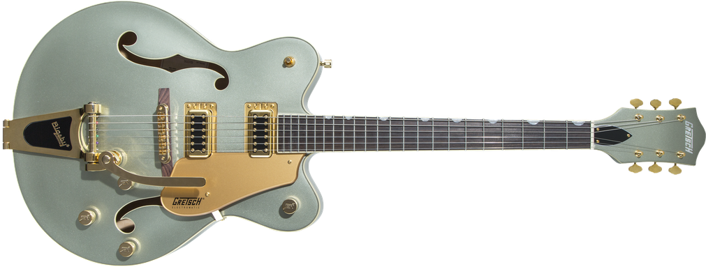 Limited Edition - G5422TG Electromatic® Limited Edition Hollow Body Double-Cut with Bigsby® and Gold Hardware, Rosewood Fingerboard, Aspen Green