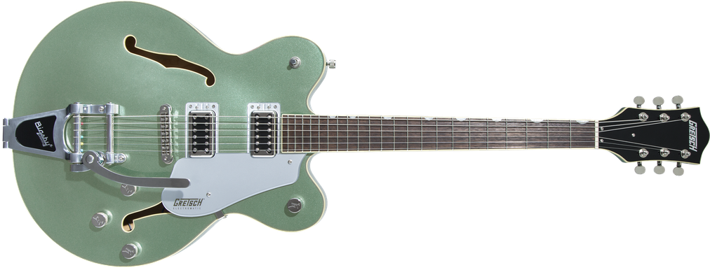 G5622T Electromatic® Center Block Double-Cut with Bigsby®, Laurel Fingerboard, Aspen Green