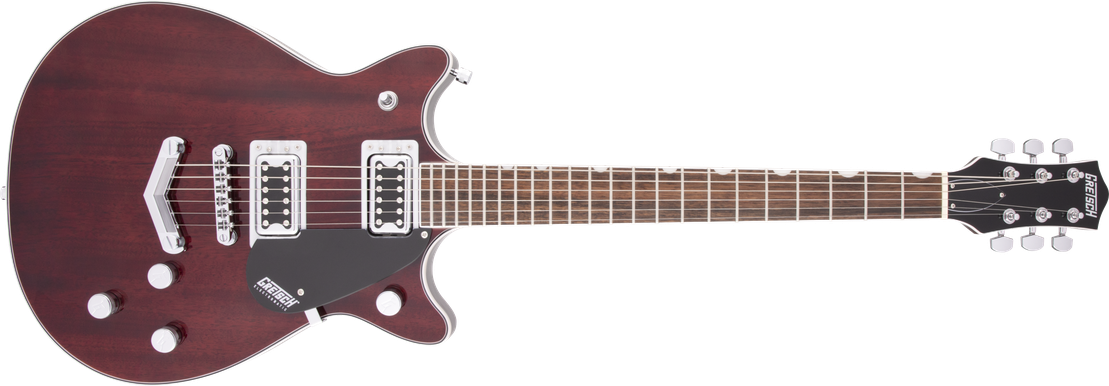 G5222 Electromatic® Double Jet™ BT with V-Stoptail, Laurel Fingerboard, Walnut Stain