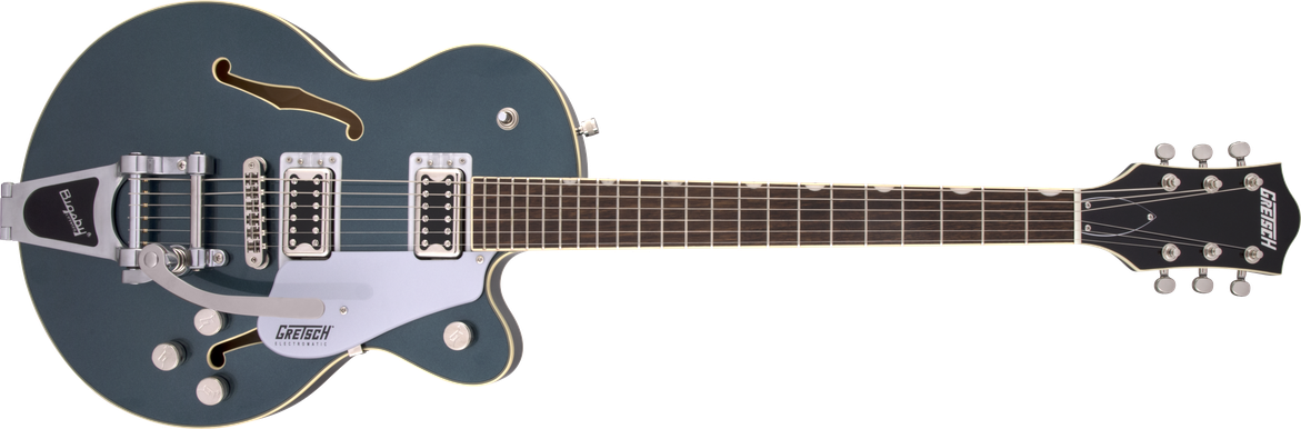 G5655T Electromatic® Center Block Jr. Single-Cut with Bigsby®, Jade Grey Metallic