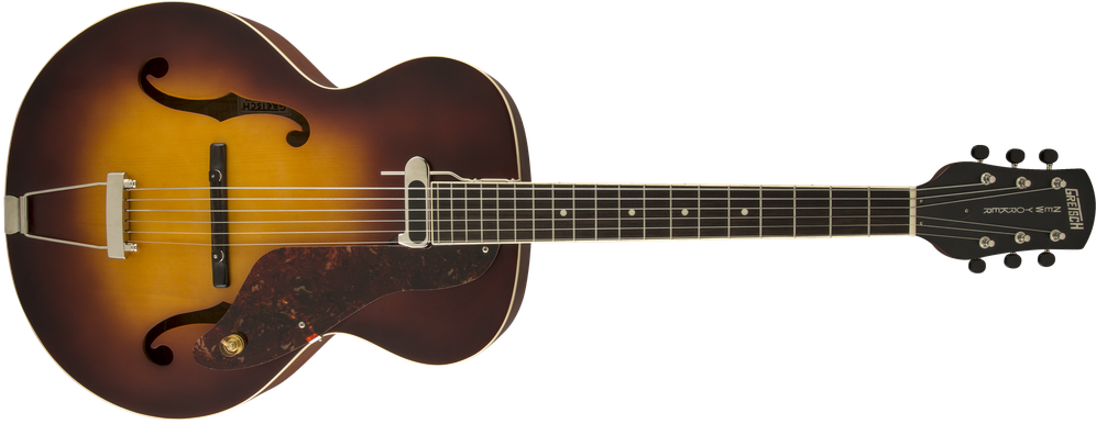 G9555 New Yorker™ Archtop Guitar with Pickup, Semi-gloss, Vintage Sunburst