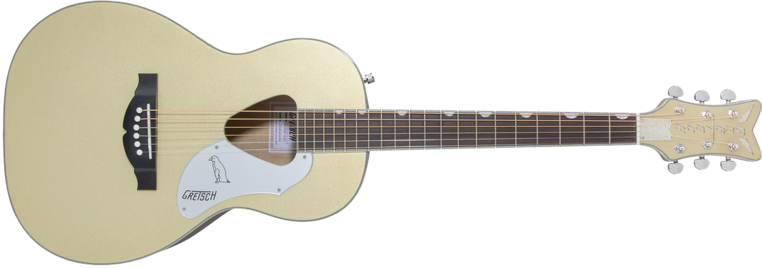 Limited Edition - G5021E Limited Edition Rancher™ Penguin™ Parlor, Rosewood Fingerboard, Casino Gold