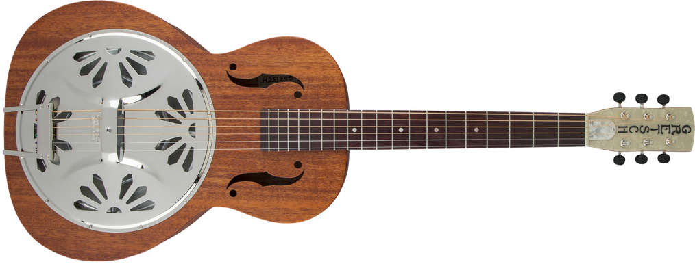 G9200 Boxcar™ Round-Neck, Mahogany Body Resonator Guitar, Natural