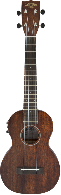 G9110-L A.E. Concert Long-Neck Ukulele with Gig Bag, Acoustic / Electric