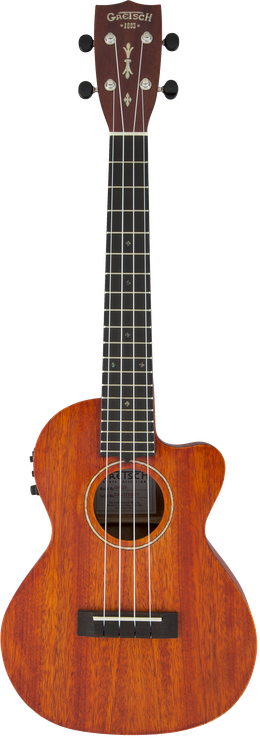 G9121 A.C.E. Tenor Ukulele with Gig Bag, Acoustic / Cutaway / Electric