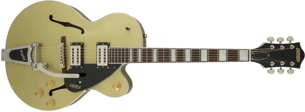 G2420T Streamliner™ Hollow Body with Bigsby®, Broad'Tron™ Pickups, Golddust