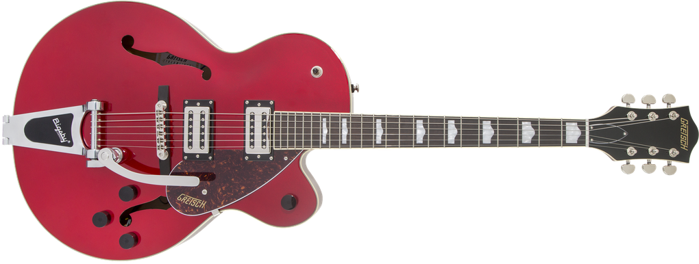 G2420T Streamliner™ Hollow Body with Bigsby®, Laurel Fingerboard, Broad'Tron™ BT-2S Pickups, Candy Apple Red
