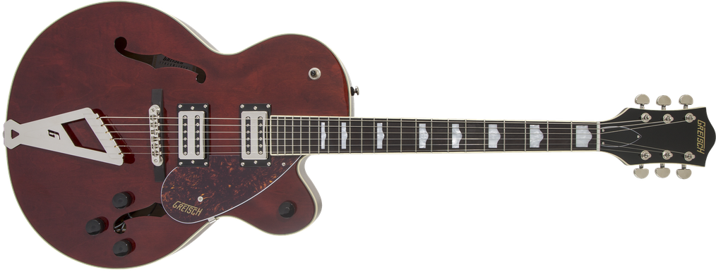 G2420 Streamliner™ Hollow Body with Chromatic II, Laurel Fingerboard, Broad'Tron™ Pickups, Walnut Stain