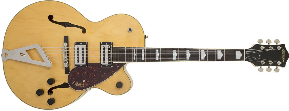 G2420 Streamliner™ Hollow Body with Chromatic II, Laurel Fingerboard, Broad'Tron™ Pickups, Village Amber