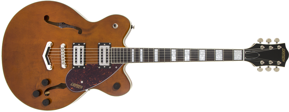 G2622 Streamliner™ Center Block with V-Stoptail, Laurel Fingerboard, Broad'Tron™ BT-2S Pickups, Single Barrel Stain