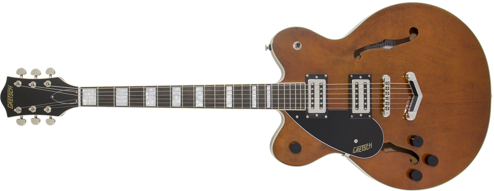 G2622LH Streamliner™ Center Block with V-Stoptail, Left-Handed, Laurel Fingerboard, Broad'Tron™ BT-2S Pickups, Single Barrel